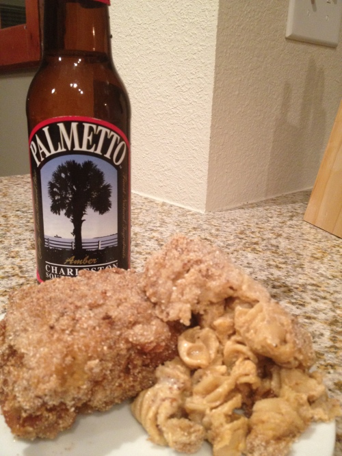 Mac 'n' Cheese and Palmetto Amber