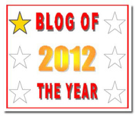 Blog of The Year 2012