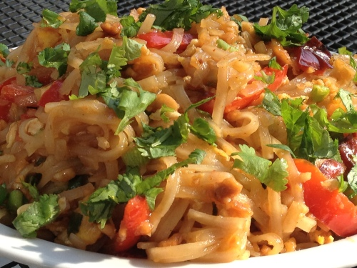 Best Vegetable Pad Thai
